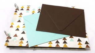 Matching envelopes. Keep receipts, etc.